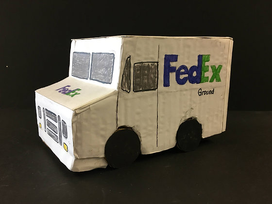 """""""Fed Ex Truck"""" by Ricky Willis"""