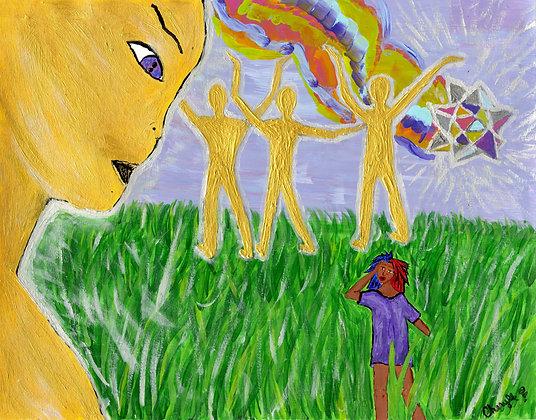 """Sun People"" by Cherylle Booker"