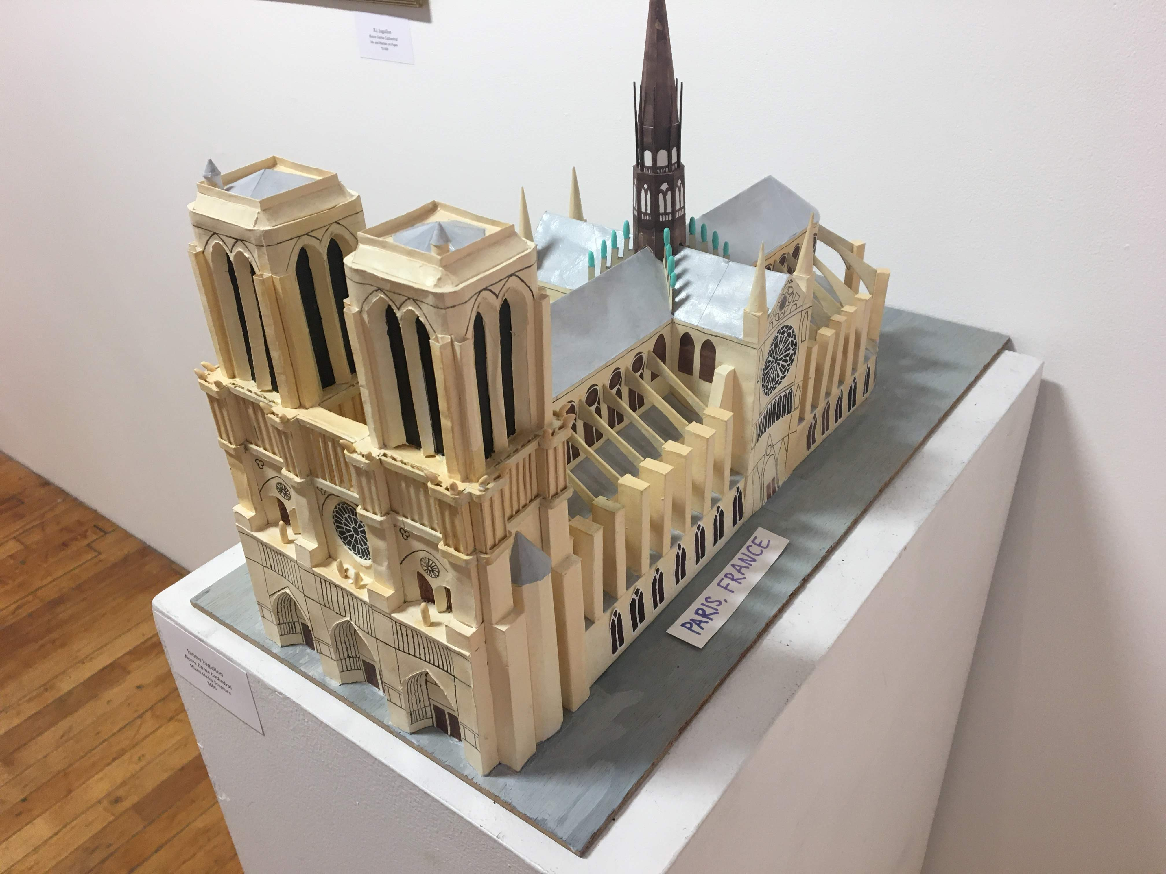 """""""Notre Dame Cathedral"""" by Janno Juguilon"""