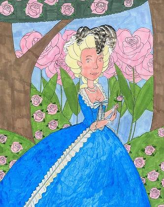 """Rose Garden"" by Jacqueline Cousins Oliva"