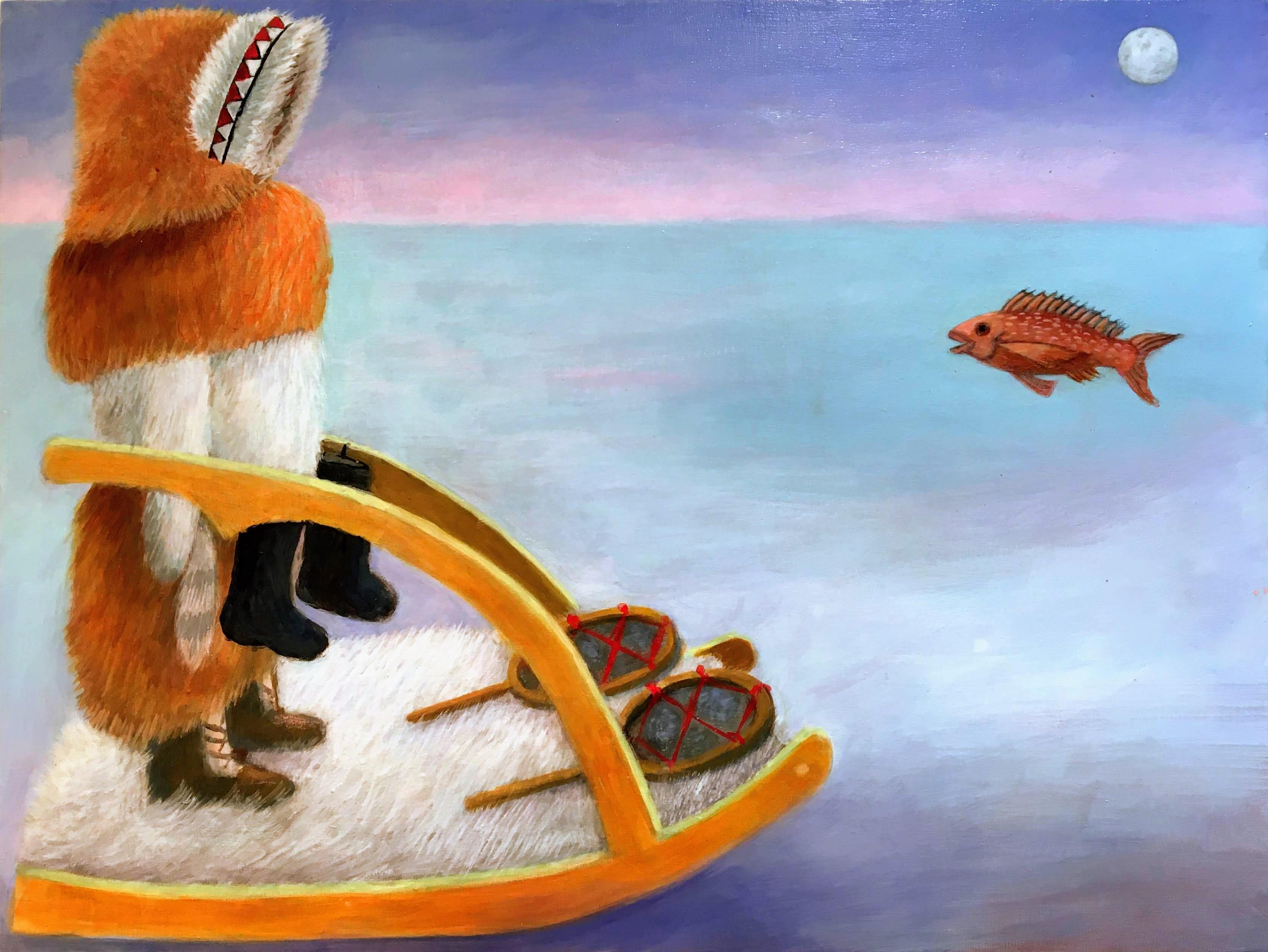 """Minuk in Alaska II"" by Elaine Pawlowicz"