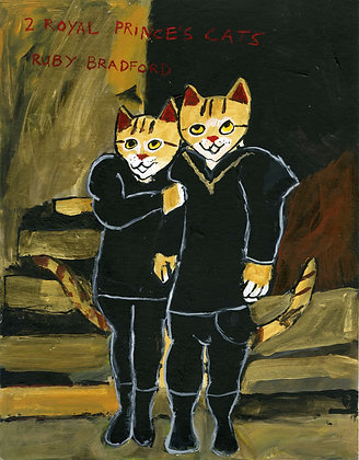 """Royal Prince Cats"" by Ruby Bradford"