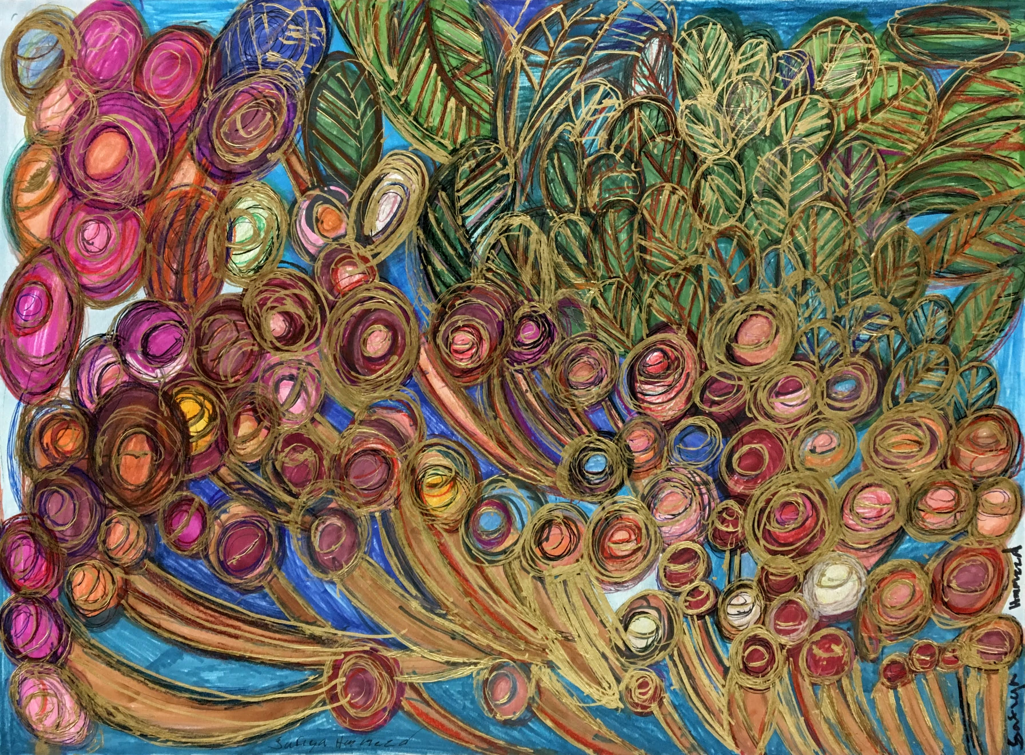 """""""Rose Garden"""" by Safiya Hameed"""