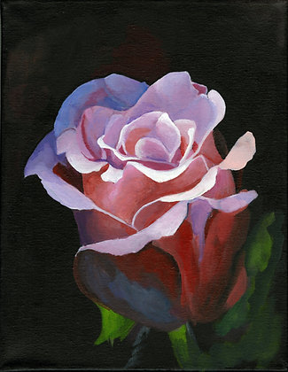"""""""Illuminated Rose"""" by Alfred Banks"""