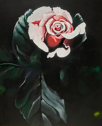 """""""Rose in the Light"""" byAlfred Banks"""