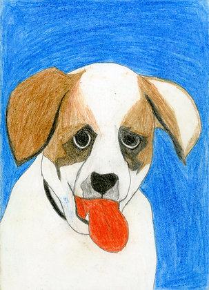 """""""Happy Dog"""" by Shadrewick Key"""