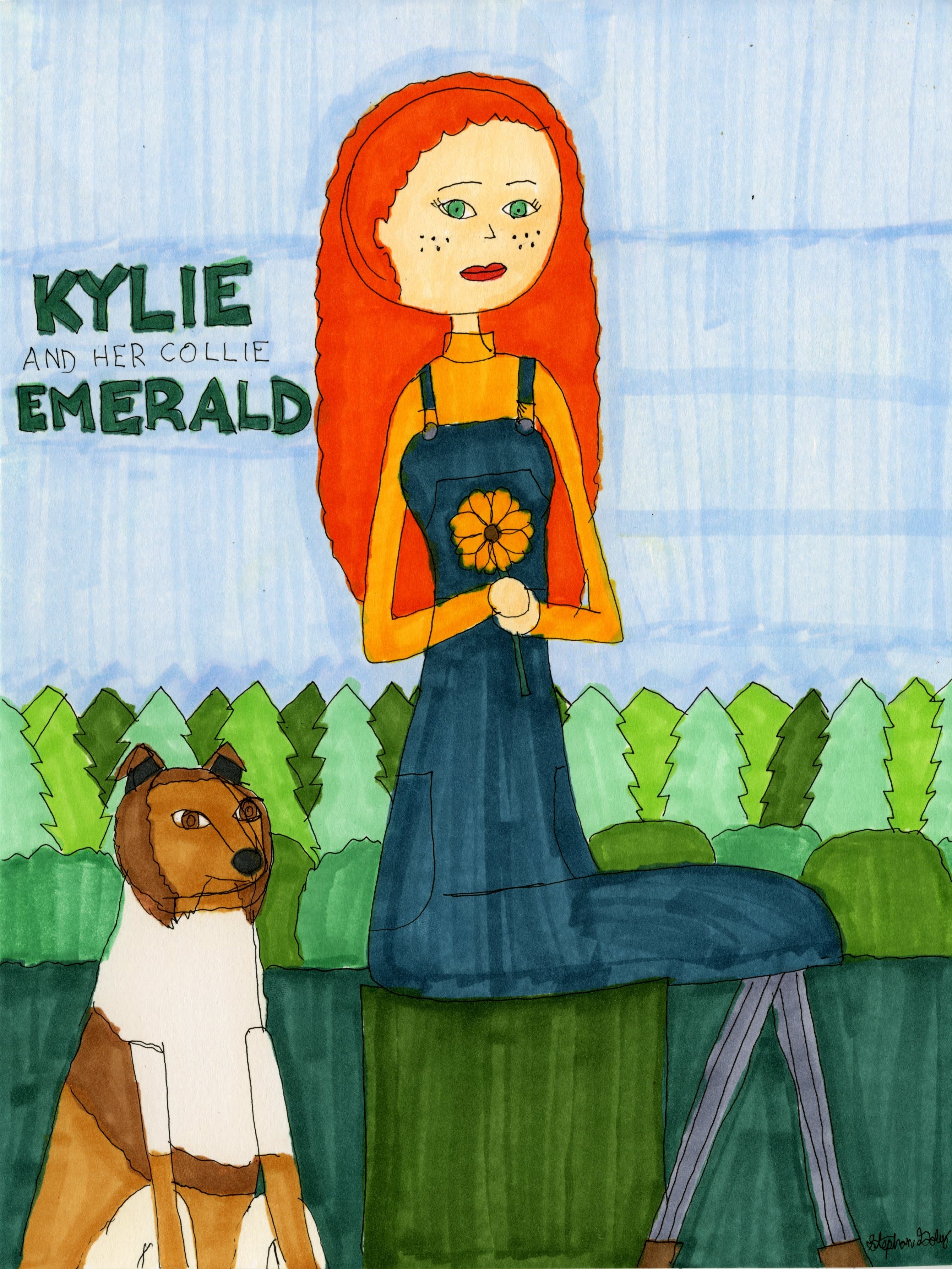 """""""Kylie and Emerald"""" by Stephon Doby"""