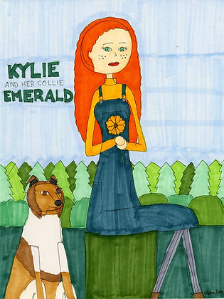 """Kylie and Emerald"" by Stephon Doby"