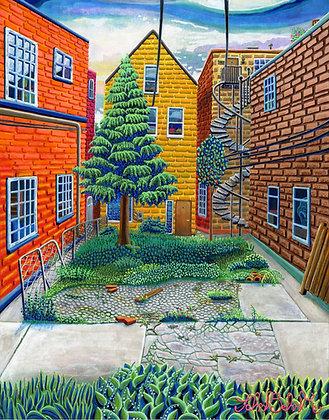 """""""Abandoned Garden"""" by John Behnke"""