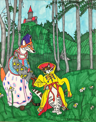 """Cat Playing Dress Up"" by Matthew Bianchi"