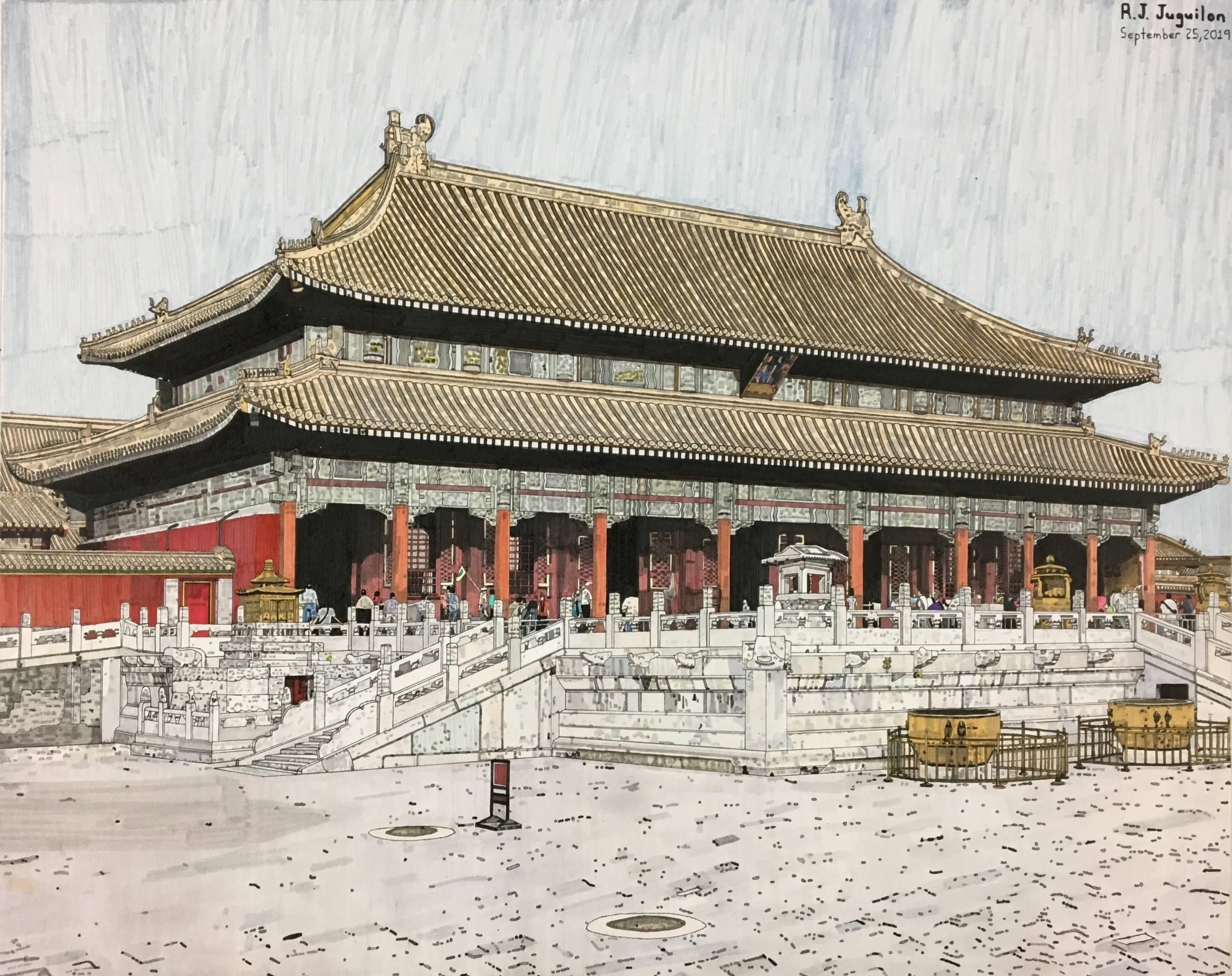 """""""The Forbidden Palace"""" by R. J. Juguilon"""