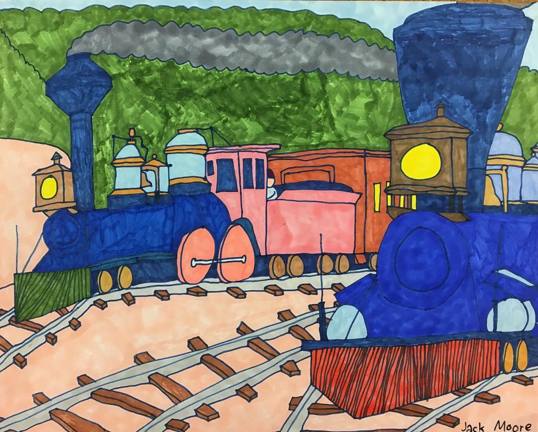 Jack Moore art