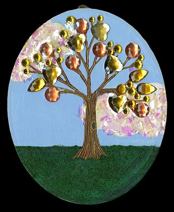 """""""Shine On Tree"""" by Jacqueline Cousins Oliva"""