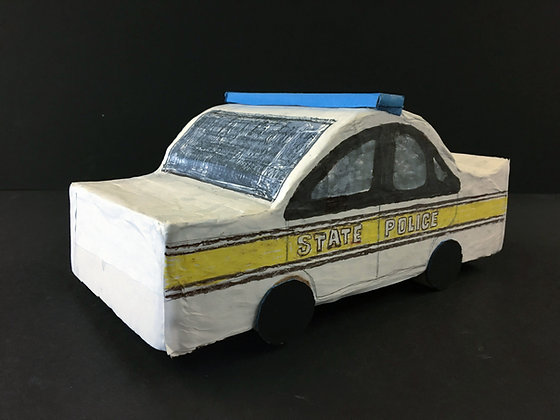 """State Police Car"" by Ricky Willis"