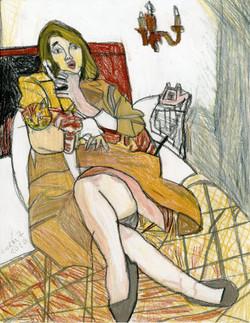"""""""Telephone Call"""" by George Zuniga"""