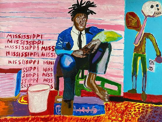 """""""Basquiat"""" by George Zuniga"""