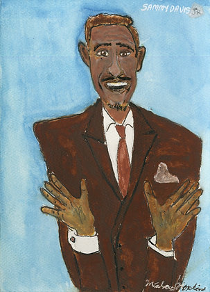 """Sammy Davis Jr."" by Michael Hopkins"