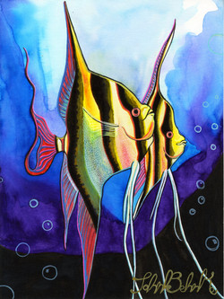 """Angel Fish"" by John Behnke"