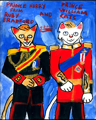 """Prince Cats"" by Ruby Bradford"