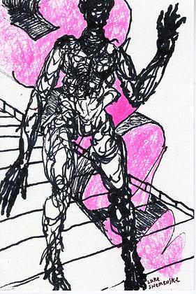 """""""Figure with Pink"""" by Luke Shemroske"""