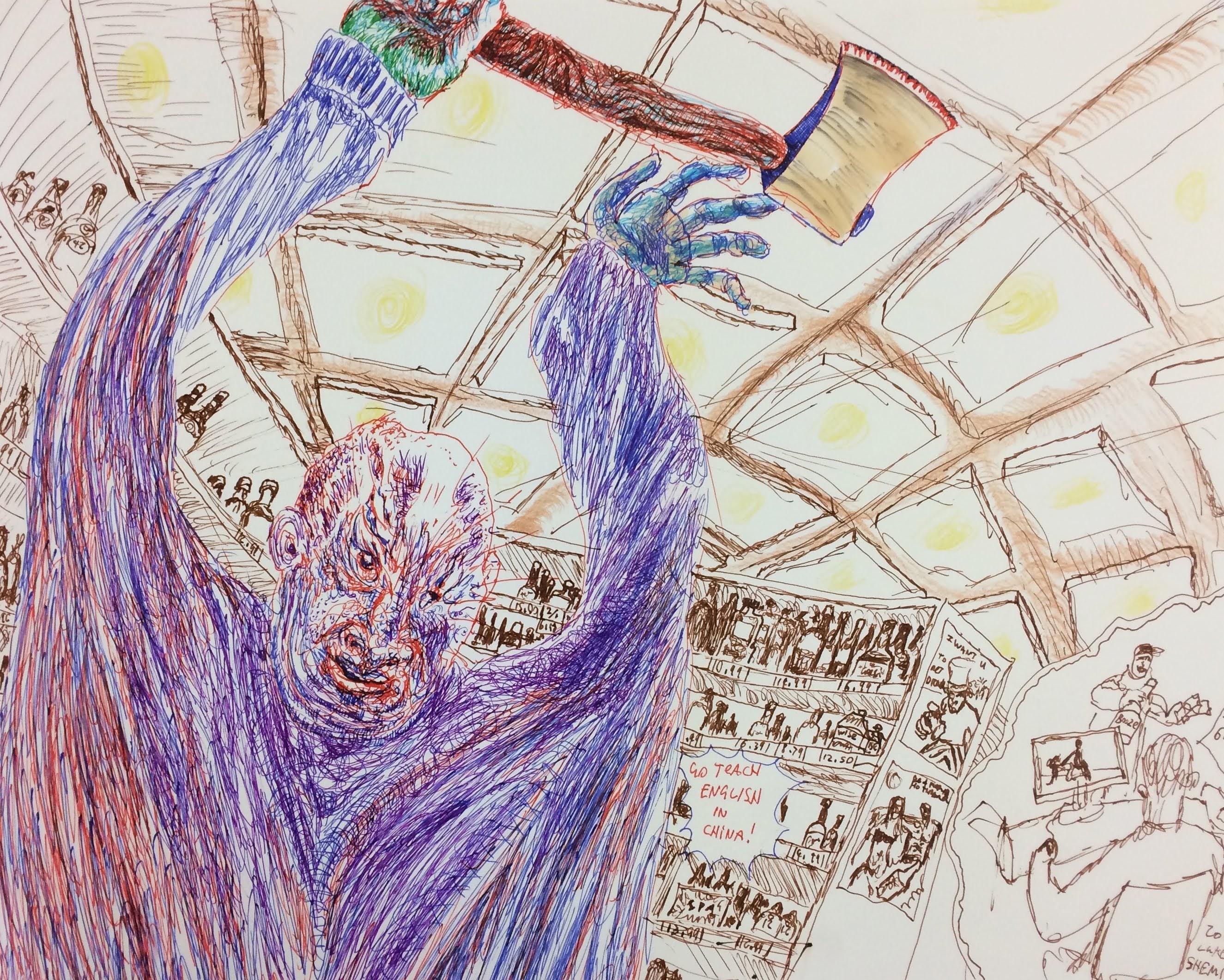 """""""Ax Man"""" by Luke Shemroske"""