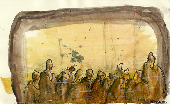 """Group of Humans"" by Luke Shemroske"