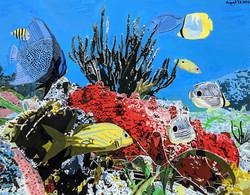 """""""Coral Paradise"""" by R. J. Juguilon"""