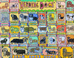 """Herding Dogs"" by Adam Hines"