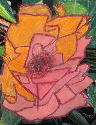 """""""Pink Flower"""" by Coral Kappel"""