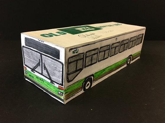 """""""Small CTA Old Man Bus 1""""by Ricky Willis"""