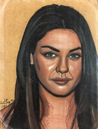 """Mila Kunis"" by Andrew Hall"