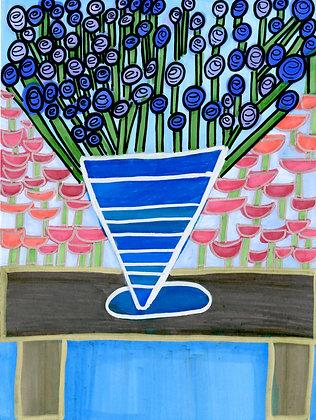 """Flowers in a Vase"" by Safiya Hameed"