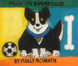 """""""Molly the Border Collie"""" by Molly McGrath"""