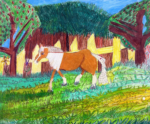 """""""Horse"""" by Coral Kappel"""