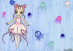 """Jellyfish Dancer"" by Dana Baker"
