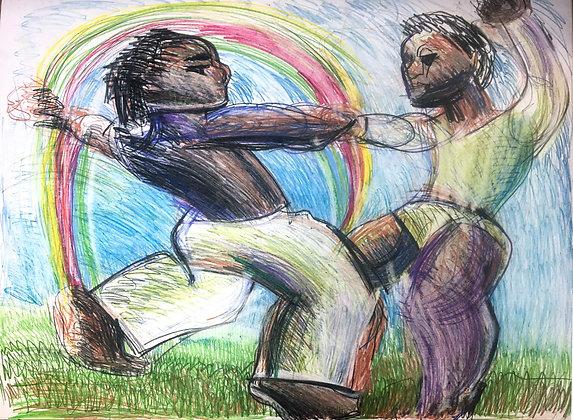 """Rainbow Dance"" by Michael Smith"