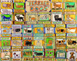 """""""Terrier Dogs"""" by Adam Hines"""