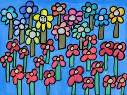 """Happy Flowers"" by Safiya Hameed"