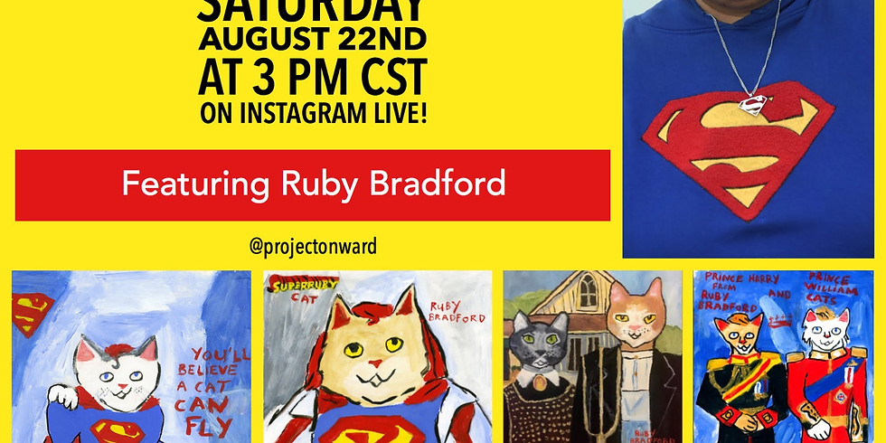 Artists at Home: Ruby Bradford