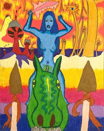 """""""Warrior Woman""""by Bill Douglas"""
