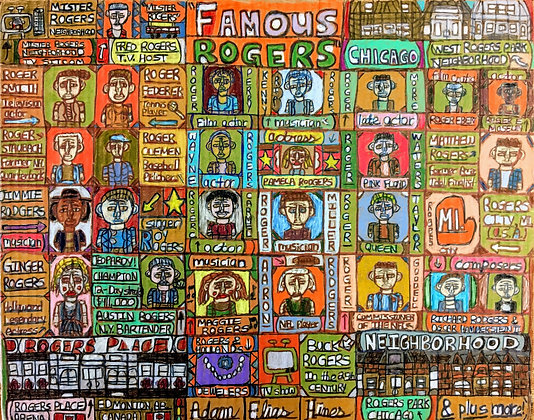 """""""Famous Rogers"""" by Adam Hines"""