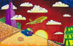 """Psychadelic Chicago"" by David Hence"
