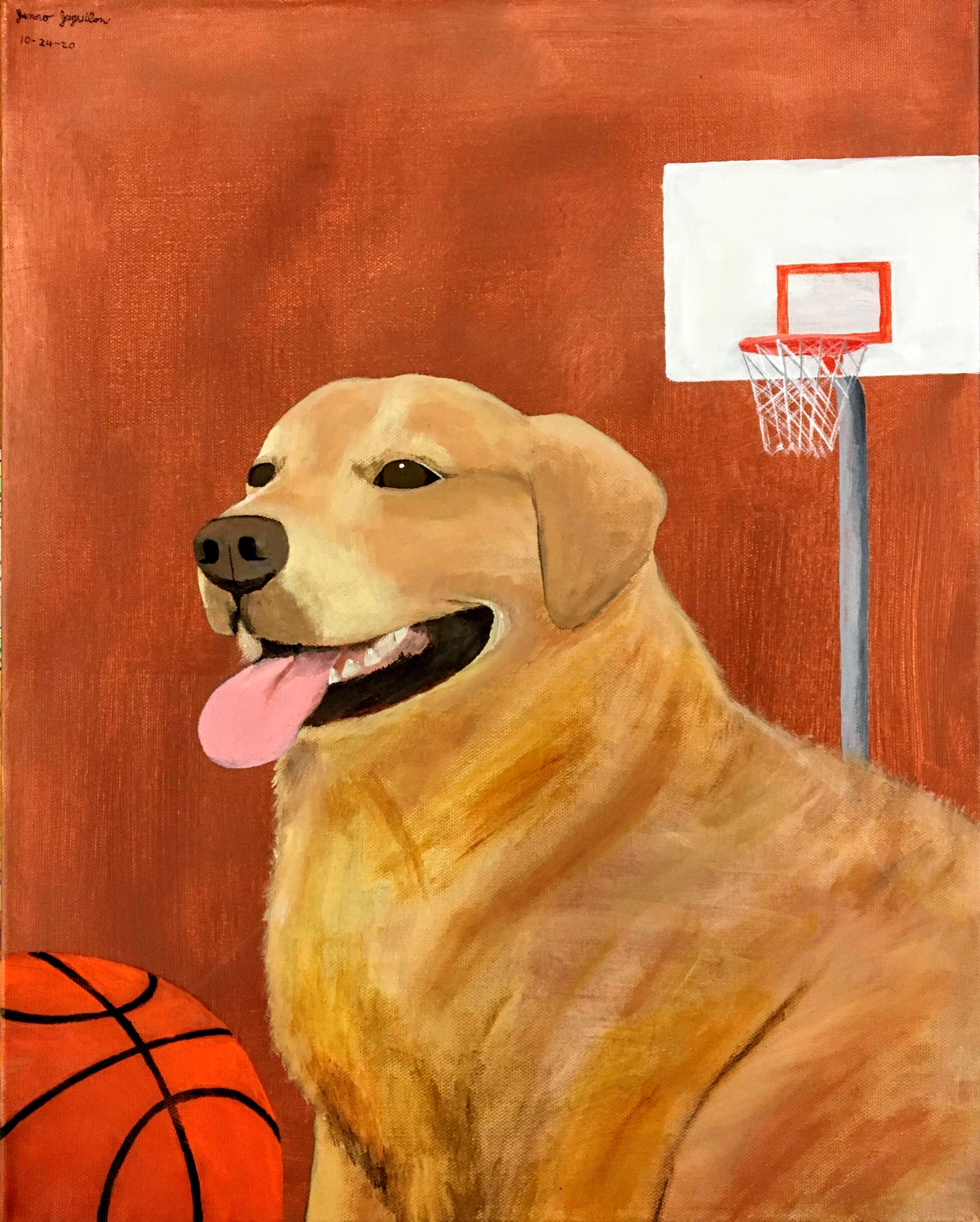 """Basketball Dog"" by Janno Juguilon"