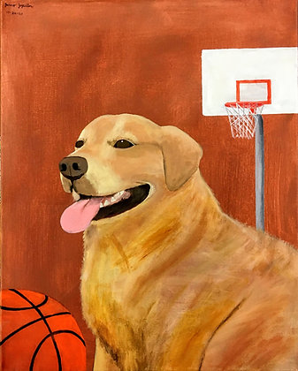 """Basketball Dog"" by Janno Juguilon"