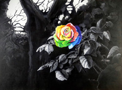 """""""Rainbow Rose"""" by Alfred Banks"""
