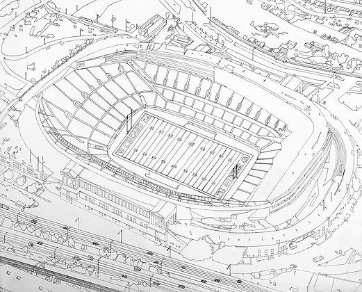 """""""Soldier Field"""" by RJ Juguilon"""