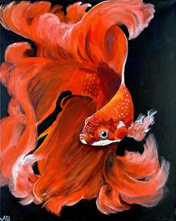 """Orange Beta"" by Alfred Banks"