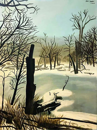 """Winter Scene"" by Janno Juguilon"