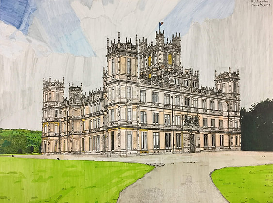 """Highclere Castle"" by R. J. Juguilon"