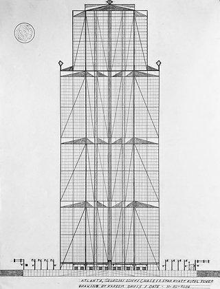 """5 Star Hyatt Hotel Tower"" by Kareem Davis"